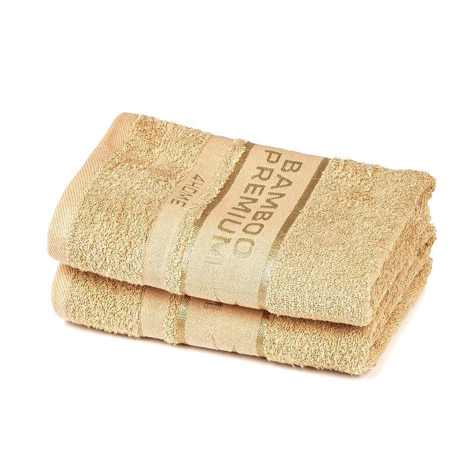 4Home Bamboo Premium uterák béžová