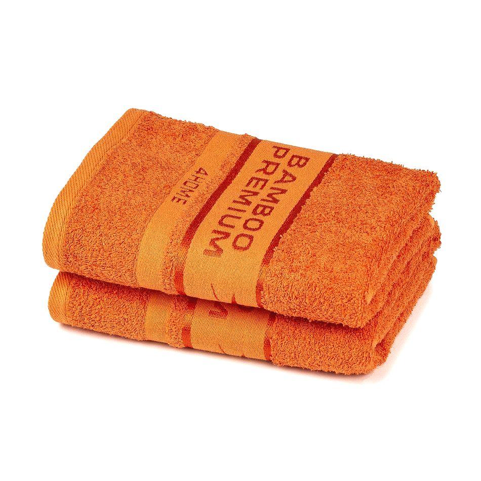 4Home Bamboo Premium uterák oranžová