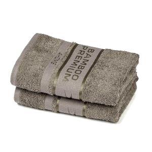 4Home Bamboo Premium uterák sivá