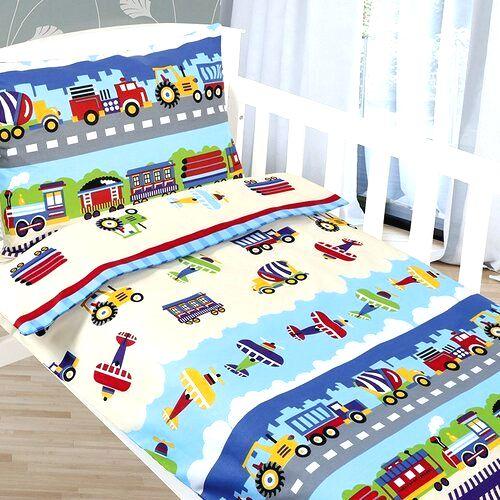 Bellatex Detské obliečky Agáta Lietadlá a autá