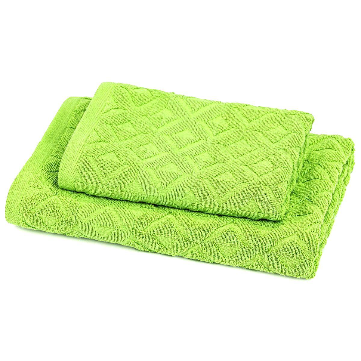 Trade Concept Sada Rio uterák a osuška zelená