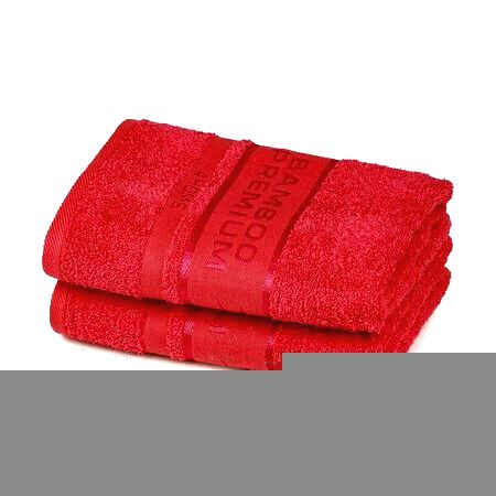 4Home Uterák Bamboo Premium červená