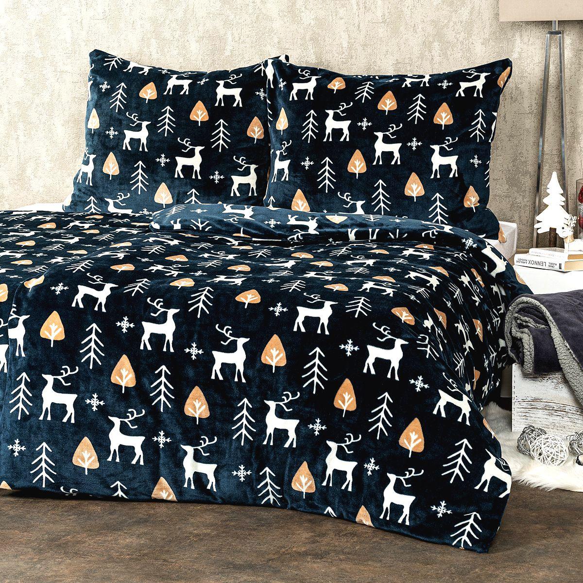 4Home obliečky mikroflanel Nordic Deer