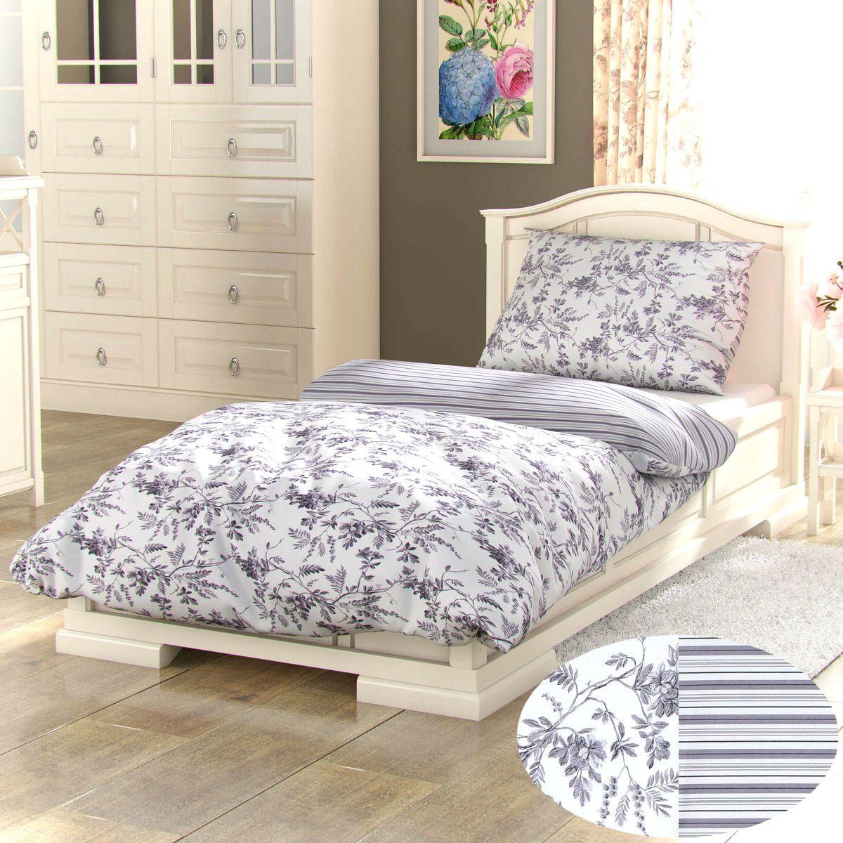 Kvalitex Bavlnené obliečky Provence Montera sivá