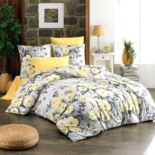 BedTex Bavlnené obliečky Alisa žltá