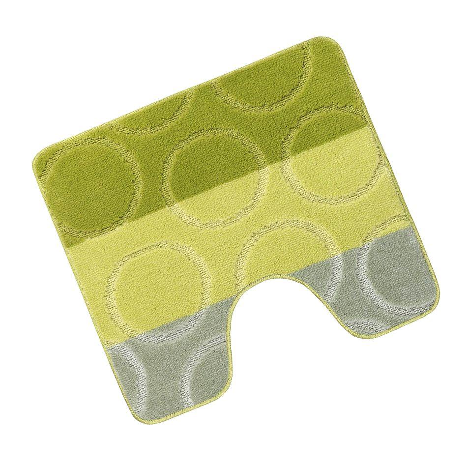 Bellatex Kúpeľňová predložka Avangard Krúžky zelená