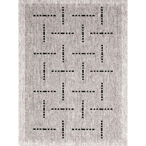 Spoltex Kusový koberec Floorlux silver/black 20008