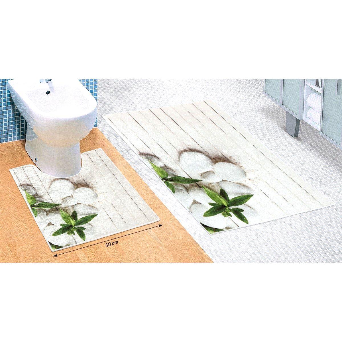 Bellatex Sada kúpeľňových predložiek Jadran 3D