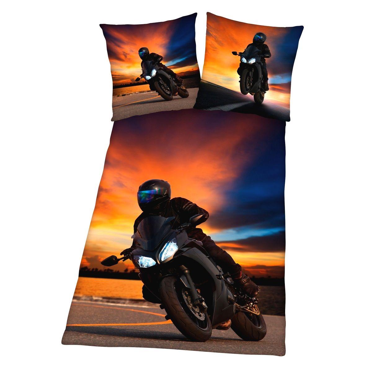 Herding Bavlnené obliečky Motorcycle