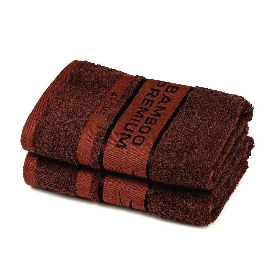 4Home Bamboo Premium uterák tmavohnedá